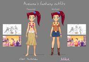 Auriana's fantasy outfits