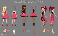 Concert outfits №1 - BFF