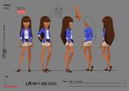 Concept art Talia, princess of Xeris1