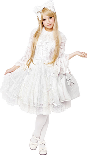 Shiro Lolita (Hello Lace)