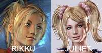 Juliet and Rikku