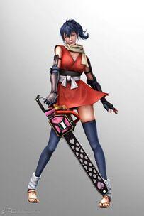 Lollipop Chainsaw Skins Chifusa Manyū cosplay (Manyū Hiken-chō)
