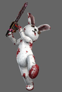 Lollipop Chainsaw Skins Bunny Rabbit Plushie Suit 02