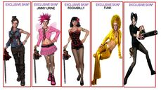 DLC costumes