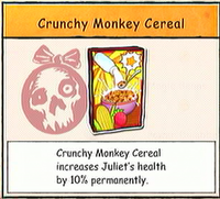 Crunchy Monkey Cereal