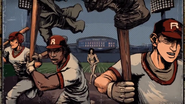 Baseball Player Flashback