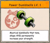 Power Dumbbells Lv. 1