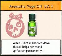 Aromatic Yoga Oil LV. 1