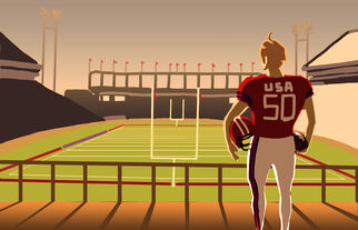 American Football by phoenixdown