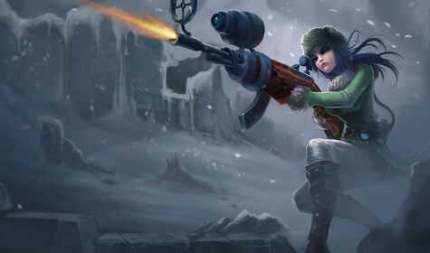 Splash Arctic Warfare Caitlyn