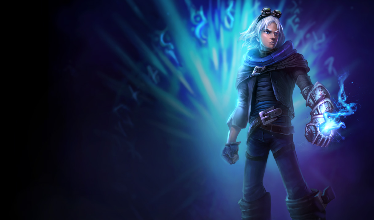 Frosted Ezreal Fan Art