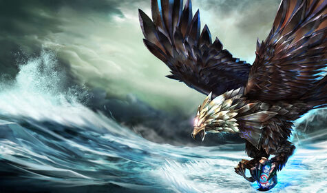 Splash Bird of Prey Anivia