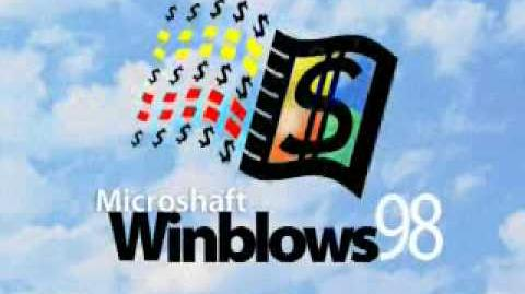 Microsaft Winblows 98