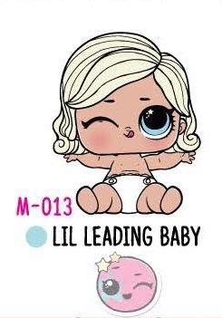 New LOL Surprise Makeover Series LILS •LIL LEADING BABY•