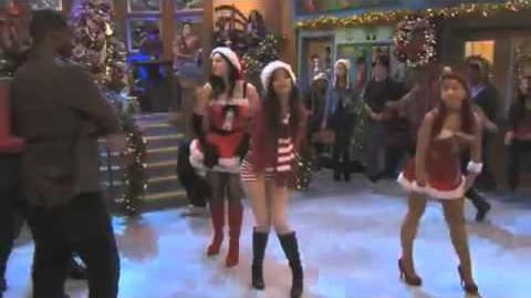 Victorious - It's Not Christmas Without You - Victoria, Liz, Ariana (A Christmas Tori)