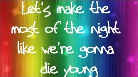Ke$ha - Die Young lyrics