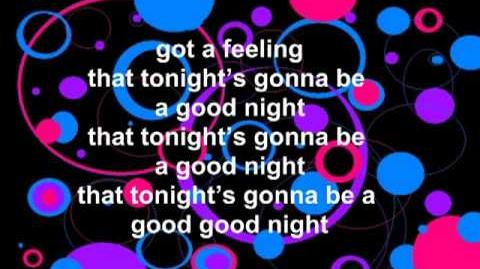 I Got a Feeling - Black Eyed Peas