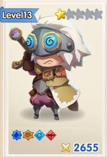 Leone profile - zoom