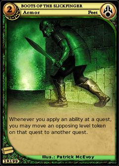 Boots of the Slickfinger full card