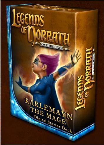 Karlemayn the Mage (Starter Deck)