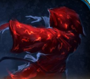 Red Glowing Robe