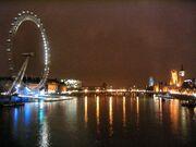 Westminster bridge night