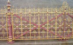 Albert Memorial (railings)