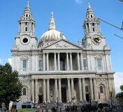 Cathédrale St-Paul - entrée principale