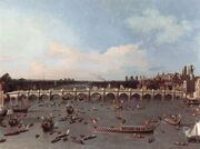 Canaletto Westminster Bridge 1746