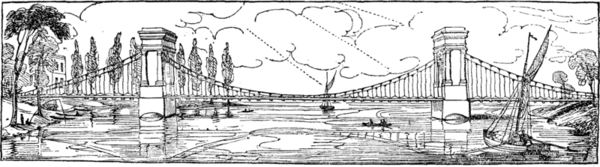 Hammersmith Bridge 1827 - Project Gutenberg etext 12595