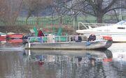 Hammerton's Ferry casting off