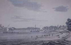Putney Bridge London 1793