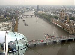 Thames river lambeth bridge