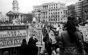 Rally in Trafalgar Square