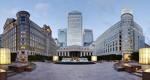 Cabot Square, Canary Wharf - June 2008