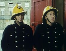 London's Burning Pilot Movie Quigley and Baines