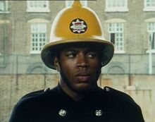 London's Burning pilot movie Fireman Lewis