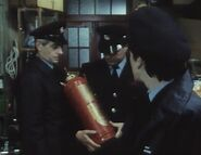 London's Burning S1 E2 Old Fire extinguisher