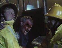 Londons burning Malcolm Bayleaf Lorry Driver