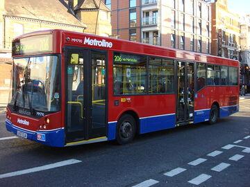 London Bus route 206