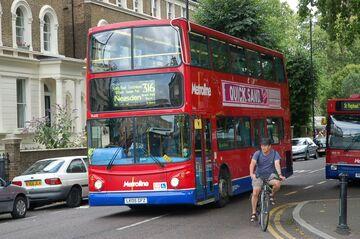 London Bus route 316