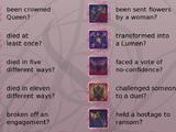 Achievements / Event Checklist