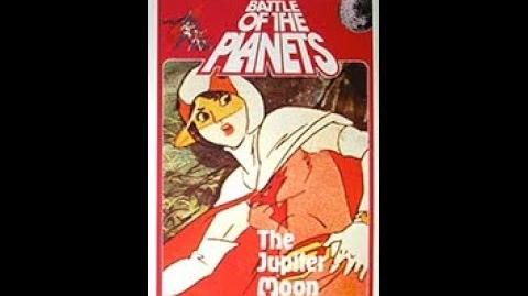 Original VHS Closing Battle of the Planets 7 The Jupiter Moon Menace (UK Pre cert Tape)