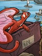 Red Dragon Monkey Bird