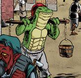Alligator-man