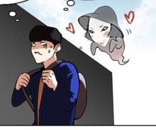 Hyung Suk and the ghost