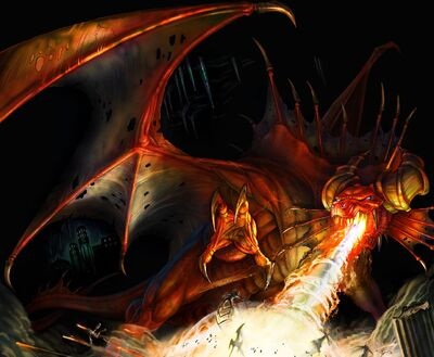 Fire dragon2