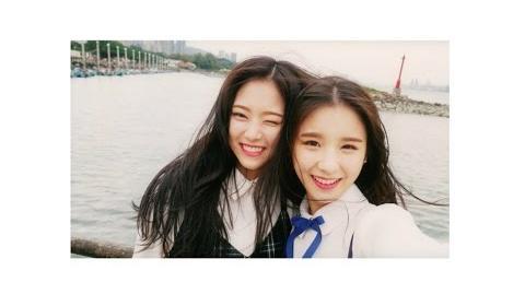 "MV 이달의 소녀 희진, 현진 (LOOΠΔ HeeJin, HyunJin) ""My Sunday"""