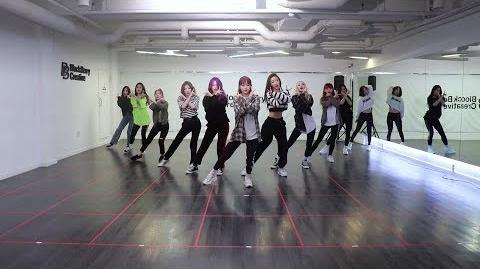 """이달의 소녀 (LOONA) """"위성(Satellite)"""" Dance Practice Video"""
