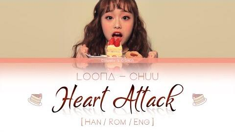LOONA Chuu - Heart Attack LYRICS Color Coded Han Rom Eng (LOOΠΔ 이달의 소녀 츄 )
